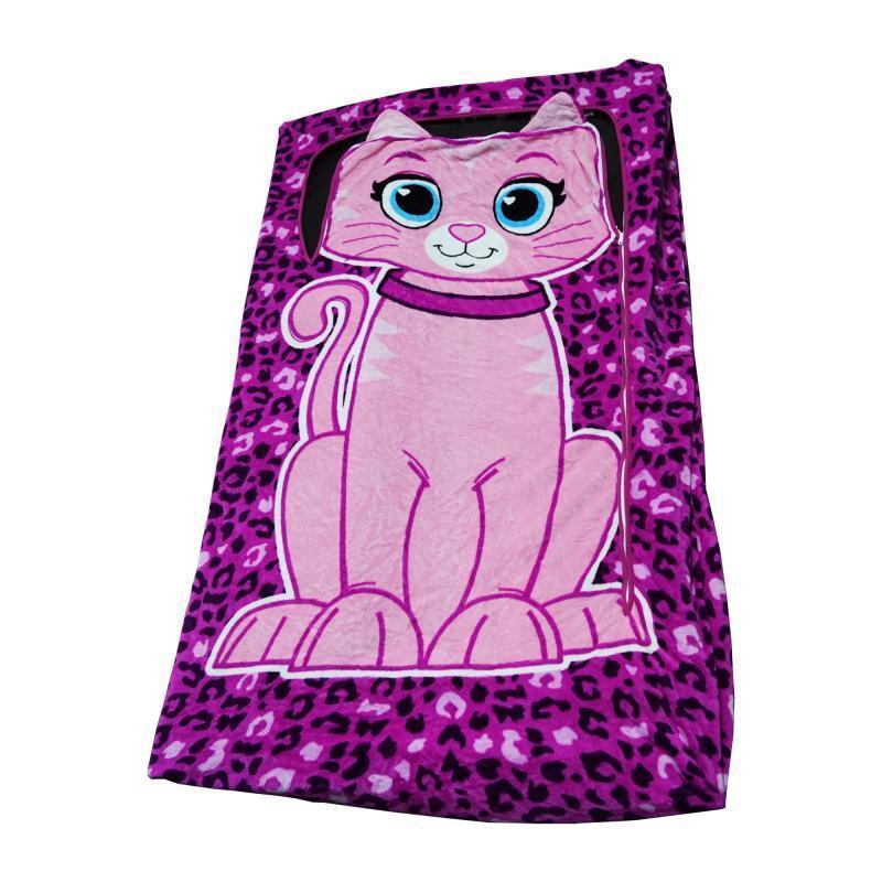 Детское постельное белье покрывало-мешок Zippy Sack Флисовое, Розовый Китти (ST-795351985)