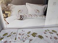 Комплект постельного белья Pupilla Сатин с вышивкой Talin