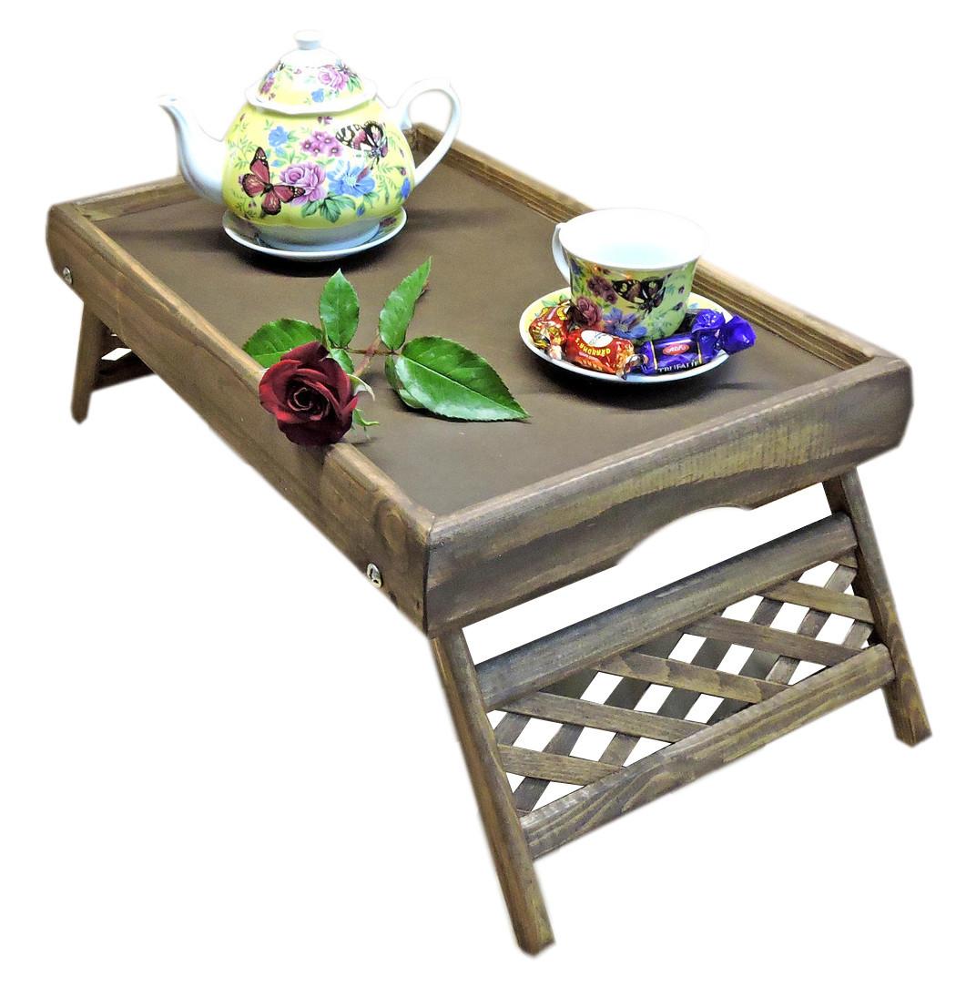 Столик для завтрака Юта Капучино деревянный (ST-900665898)