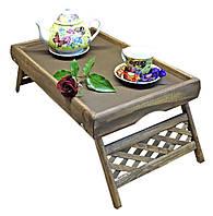 Столик для завтрака Юта Капучино деревянный (ST-900665898), фото 1