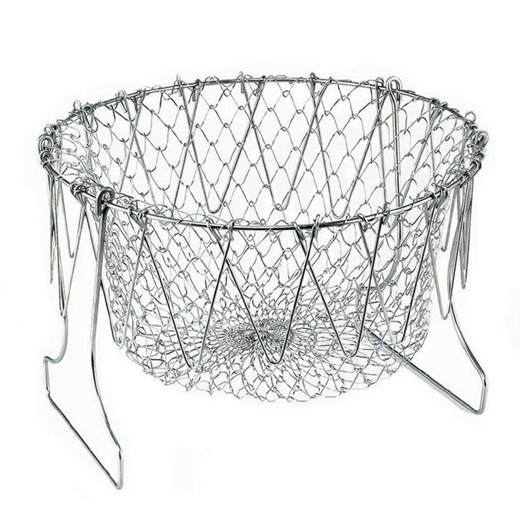Дуршлаг складной Magic Kitchen Deluxe Chef Basket (ST-8169934)