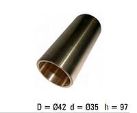 Втулка ресорна бронзова DAF, 0659666, 35x42x97.5