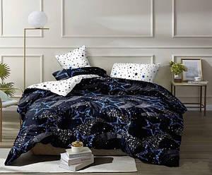Полуторный размер постельное белье «Синее ночное небо»