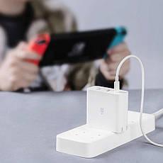 Зарядное устройство Xiaomi ZMI Fast Charging 65W 2-USB+UCB-C (HA832) White, фото 2