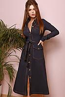 Женское модное платье с 42 по 46 рр джинс - бенгалин