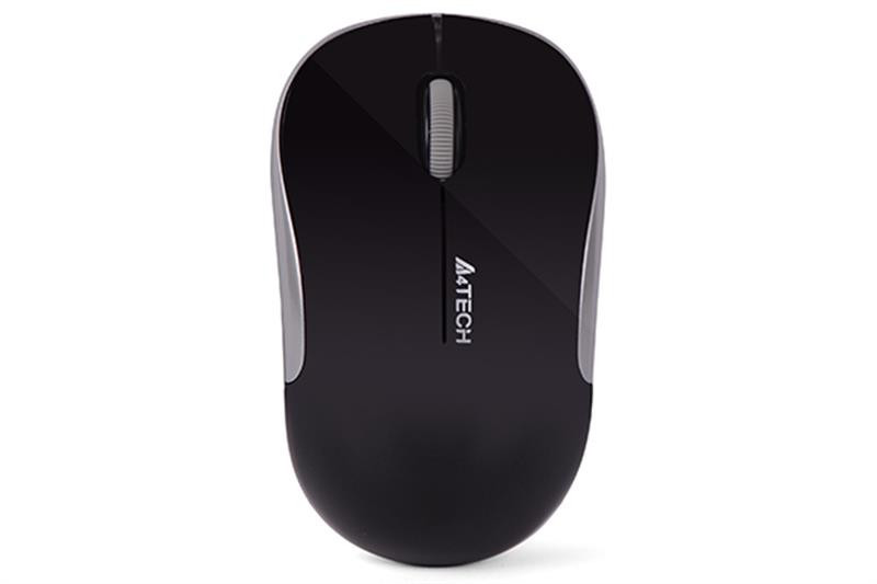 Мышь беспроводная A4Tech G3-300N Black/Silver USB V-Track