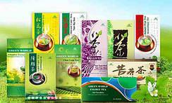 Чайная серия (фиточай) Green Wprld, натуральные китайские травы