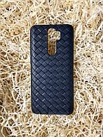 "Чехол ""Кожаное Плетение"" для Xiaomi Redmi Note 8 Pro, Black"