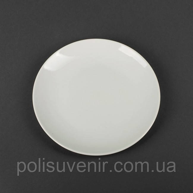 "Фарфорова кругла тарілка 9 ""/ 230 мм"