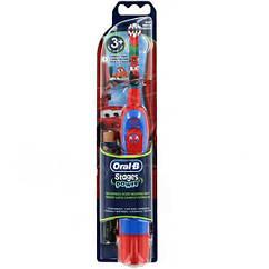 Детская зубная щетка на батарейках Braun Oral-B Stages Power Cars Тачки (DB4) 01231