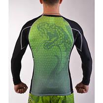 Рашгард для ММА BERSERK VIPER green, фото 3