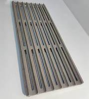 Чугунная решетка гриль для барбекю - 8 прутьев, 400х154 мм 3,1 кг., фото 1