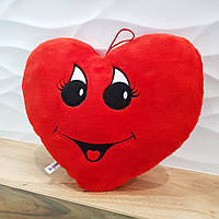 М'яка іграшка/подушка в 4-х моделях. Сердечко червоне.