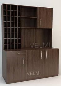 Лаборатория для парикмахерской VM519 ДСП Swisspan Орех темный (Velmi TM)