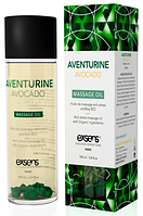 Натуральное массажное масло EXSENS Aventurine Avocado (анти-стресс с авантюрином) 100мл