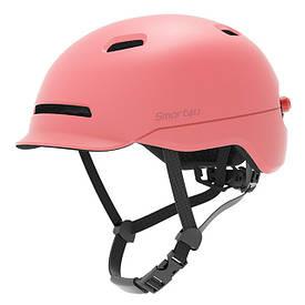Шлем Xiaomi Smart4u City Light Ride Smart Flash Helmet SH50 Pink