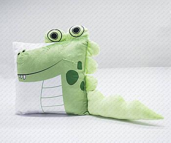 """Подушка-игрушка """"Дракон 20201"""" плюшевая с местом для сублимации"""