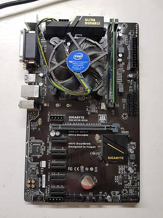 Комплект Gigabyte Socket 1151 + Intel G3900 + 4Gb DDR4, фото 2
