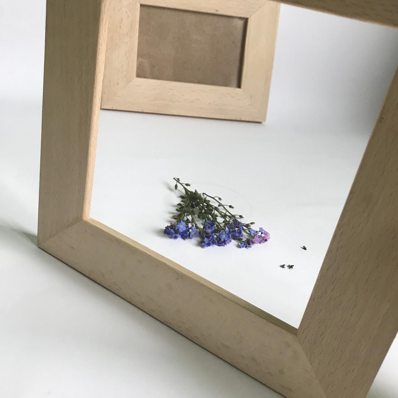 Дерев'яна рамка для фото  10*15см.