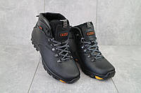 Мужские ботинки кожаные зимние черные Storm RZ- W, фото 1