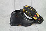 Мужские ботинки кожаные зимние черные Storm RZ- W, фото 3