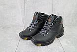 Мужские ботинки кожаные зимние черные Storm RZ- W, фото 4