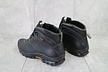 Мужские ботинки кожаные зимние черные Storm RZ- W, фото 5