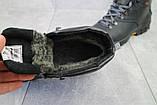 Мужские ботинки кожаные зимние черные Storm RZ- W, фото 6