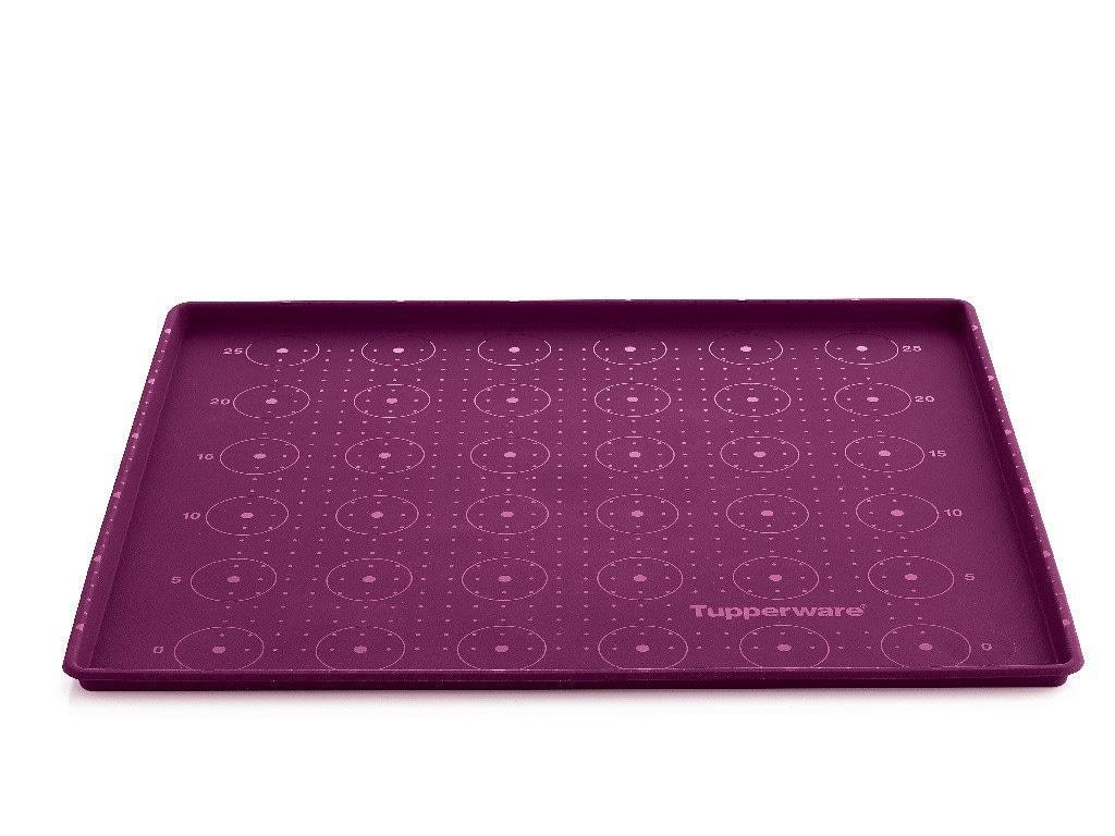 Tupperware силиконовый противень в фиолетовом цвете