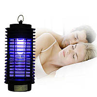 Ультрафиолетовый уничтожитель насекомых Insect Trap, лампа ловушка для комаров, мошки, мухи   🎁%🚚
