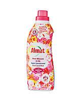 Гель концентрат для стирки белых и цветных вещей с ароматом Роза и Лилия Almat Rose Blossom & Lily 25 стирок