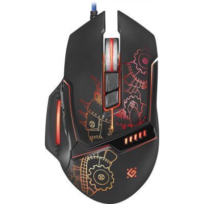Мышка Defender Kill'em All GM-480L Black (52480)