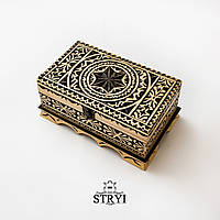 Деревянная шкатулка ручной работы, фото 1