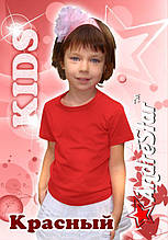 "Детская футболка ""AndreStar Kids"" Красная"