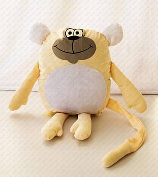 """Подушка-іграшка """"Мавпа 20201"""" плюшева з місцем для сублімації"""