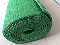 Йогамат 4 мм зеленый (коврик для йоги и фитнеса), фото 1
