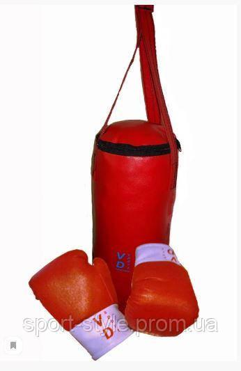 Детская боксёрская груша с перчатками (набор)