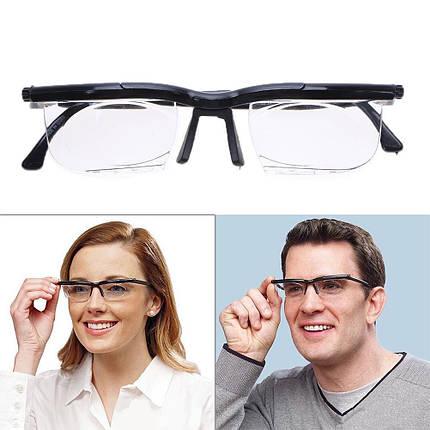 Очки для зрения с регулировкой линз Dial Vision Adjustable Lens Eyeglasses от -6D до +3D (Реплика), фото 2