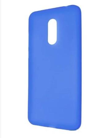 Силиконовый чехол для Xiaomi Redmi Note 4 синий