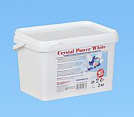 Crystal Power White, универсальный стиральный порошок, 2 кг., 64 стирки