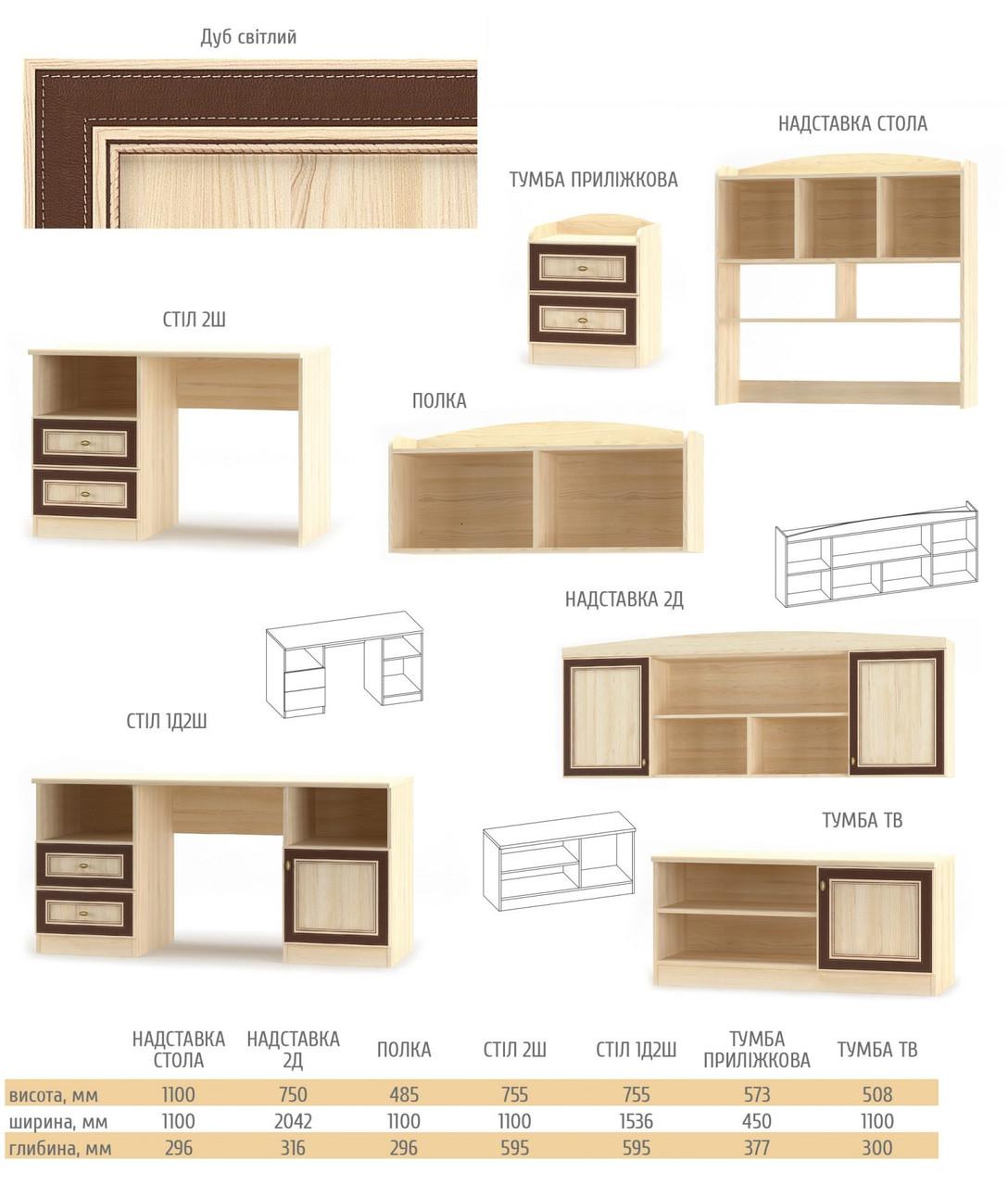 Модульная система Мебель-Сервис «Дисней»