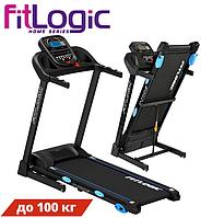 Компактная беговая дорожка FitLogic T710E