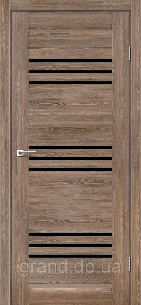 Межкомнатные двери Leador Sovana серое дерево