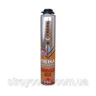 Піна монтажна професійна X-Treme МЕГА 850 мл 65 л