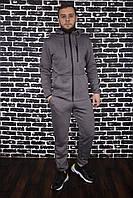 Спортивный костюм Spirited Hot Intruder серый - утепленный флисом + Подарок