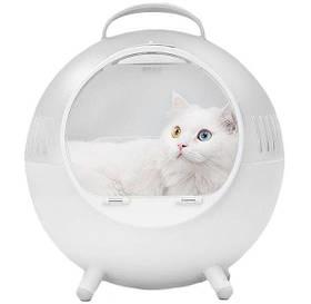 Сумка для кошек Xiaomi Furrytail Tail Life Cat's Moving Castle Cat Bag White