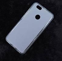 Силиконовый чехол для Xiaomi Redmi Note 5a / Redmi Y1 Lite белый прозрачный