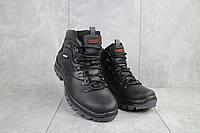 Мужские ботинки кожаные зимние черные Storm RXV-2, фото 1