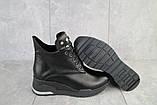 Женские ботинки кожаные зимние черные Emma Z -061, фото 3