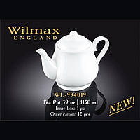 Чайник заварювальний Wilmax Color 1150мл. WL-994019/1C